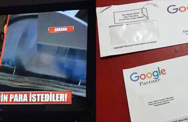 Google Dolandırıcılık